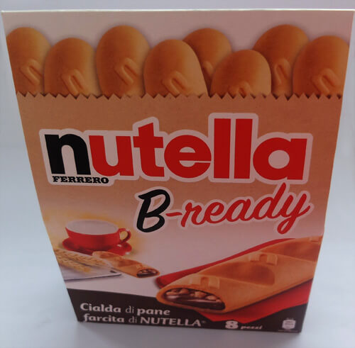 B-Ready au Nutella de Ferrero