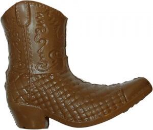 chaussure santiag en chocolat